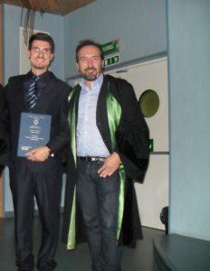 Io e Prof. Petrosino - Laurea
