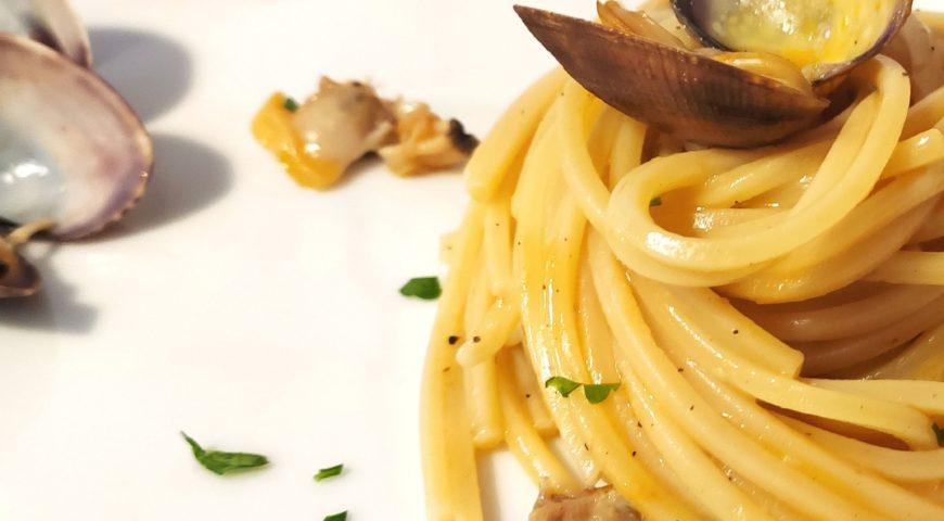 Lo spaghetto alle vongole