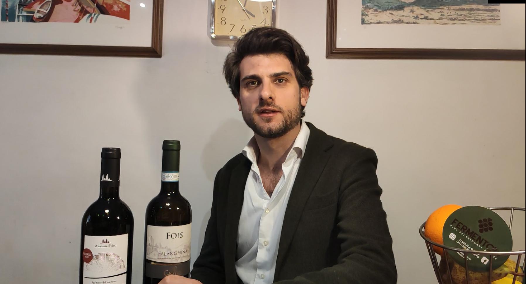 fermento24 unboxing vino