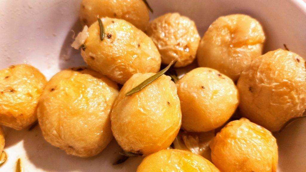 patate novelle cotte al microonde