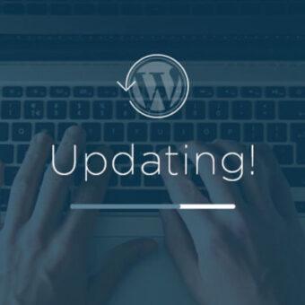 Aggiornamento sicurezza software wordpress