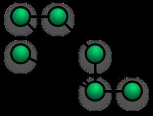 Maglia (mesh) parzialmente connessa